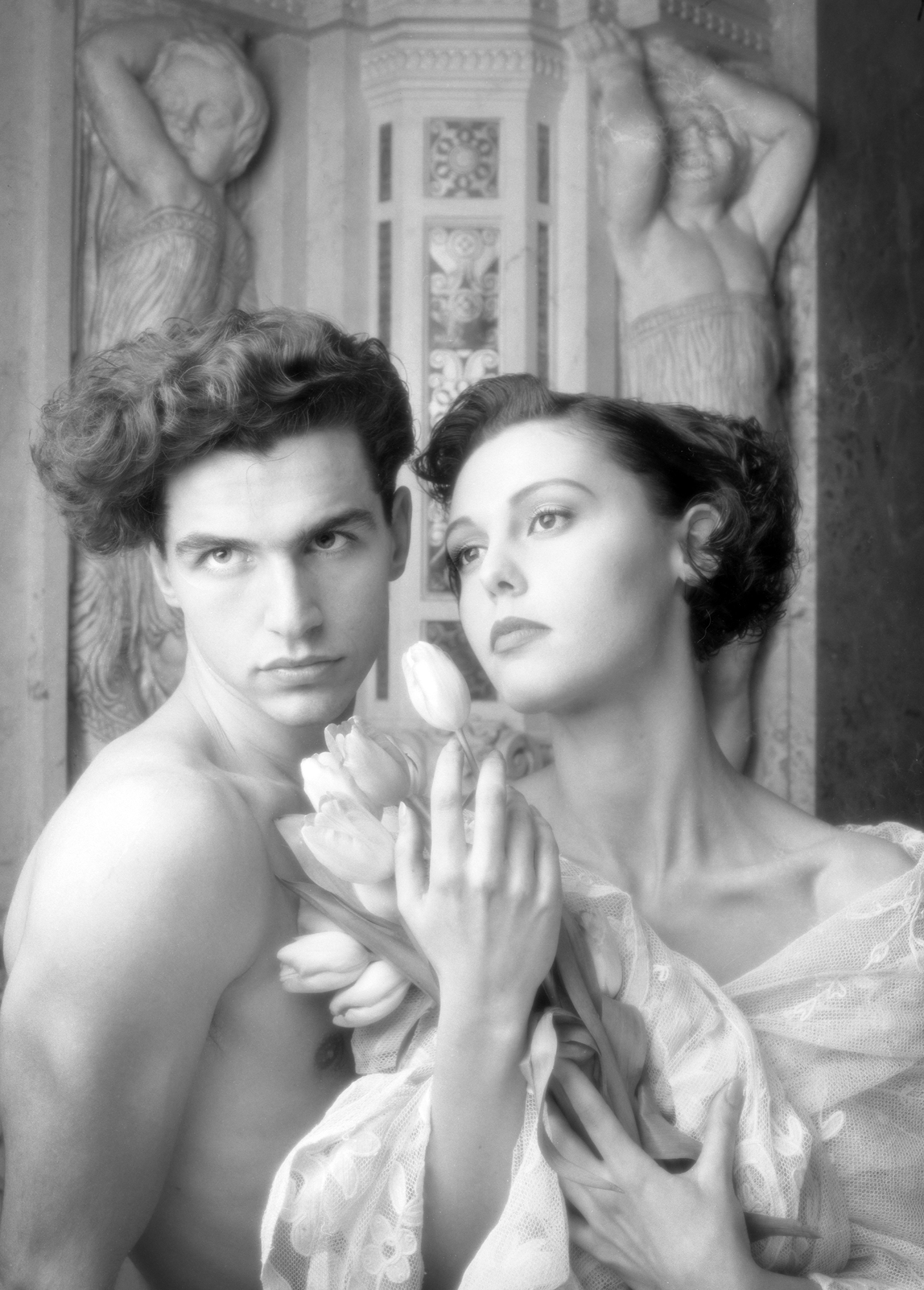 Couple Portrait In the Spa - Photo Patrick Richmond Nicholas©